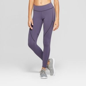 Joy Lab Premium 7/8 Mid-Rise Leggings - Navy
